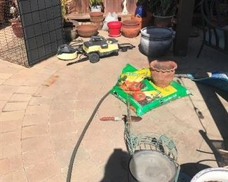 Pots and Pet Cage