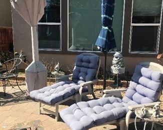Lounge Chairs/ Umbrella
