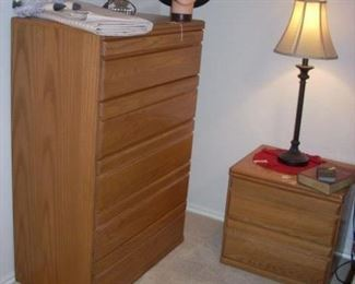 Chest of Drawers, End/Bedside Table