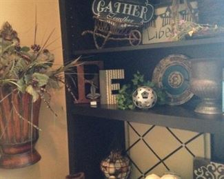 More decorative selections