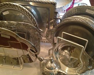 Arthur Court and other brands of metalware