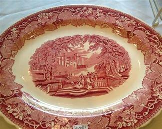 English Mason's ironstone platter