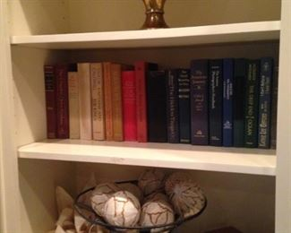 Books and decor