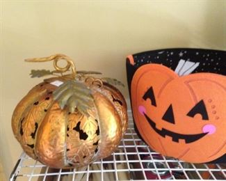 Pull out the pumpkins .  .  .