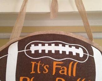 Fall brings football and .  .  .