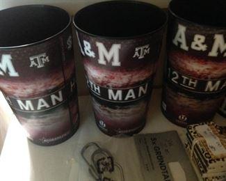 Texas A&M cups