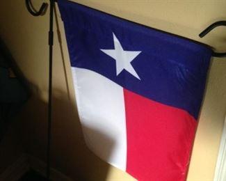 Texas yard flag
