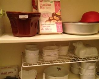 Baking selections