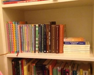 Lots of books for kids