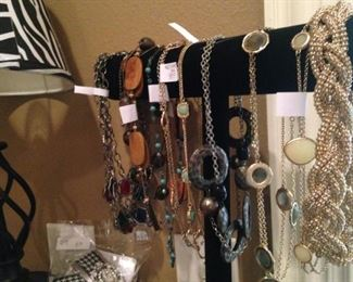 Additional necklaces