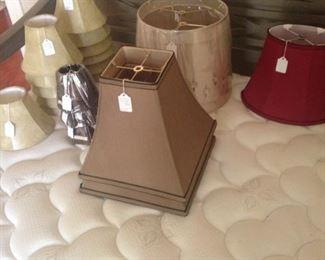 Variety of lamp shades