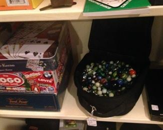 Marbles and more games