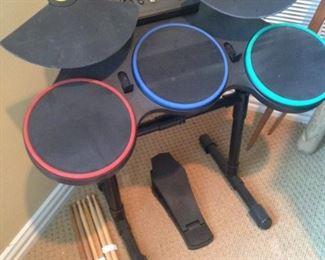 Child's small drum set