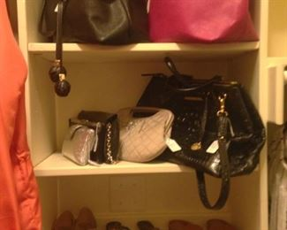 Purses and sandals