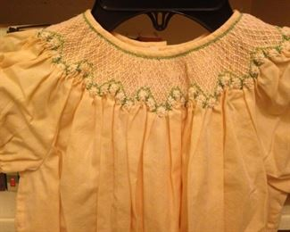 Another dress with smocking