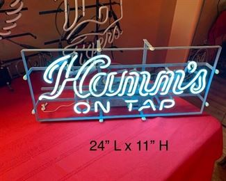 HAMM'S ON TAP NEON SIGN