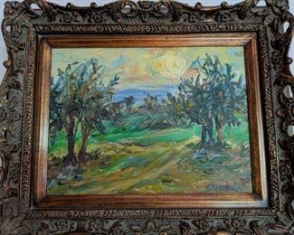 Jill Steenhuis - oil on canvas, landscape
