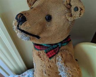 Steiff bear with ear button