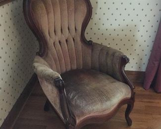 Victorian upholstered chairs