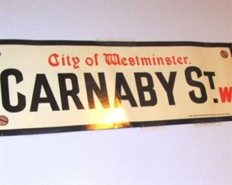 toledo carnaby st. sign