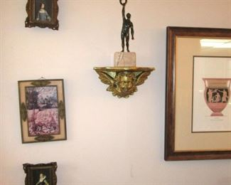 toledo wall with sconces