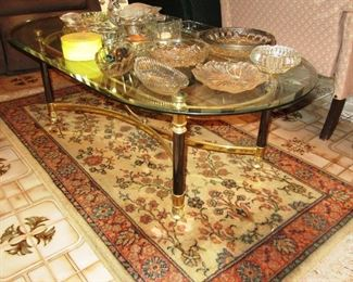 toledo rug and coffee table