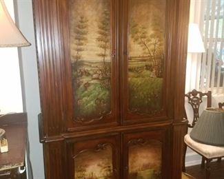 Chifforobe/Wardrobe/Entertainment Center.