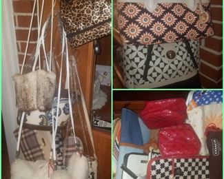 Brand new purses, wallets, and bags (Kimberly's closeout) including Spartina,