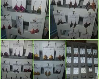Large selection of new earrings (Kimberly's Antiques Closeout)