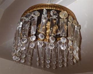 antique bag chandelier
