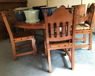 Dining Table and Chairs Mexico from Mexico