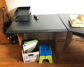 3 piece desk/workstation