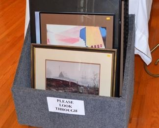 LOTS OF ART WITH MANY TOPICS  - ONLY A SMALL SAMPLE SHOWN