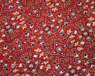 "Vintage Red Turkish Area Rug Bunyan Kayseri (Approx 75""x 46.5"")"