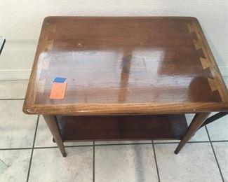 Lane side table vintage 60'
