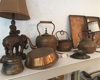 Collection of copper