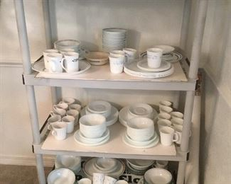 Collection of Corelle sets of china