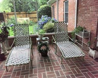 Tropicone vintage patio furnitures