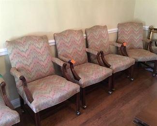 Set of 6 total Marsha Washington chairs, 4 & 2. = 6 total
