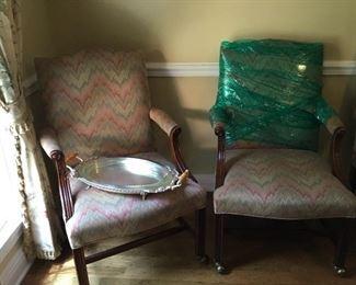Set of two Marsha Washington chairs