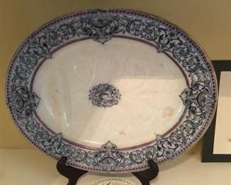 Antique English Ridgway meat platter
