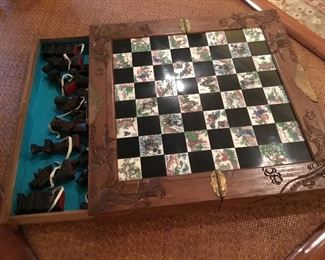 Asian Chess game