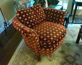 Pair of Swain armchairs