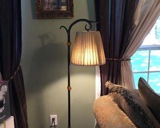 Tall floor lamp