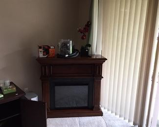 Electric fireplace,