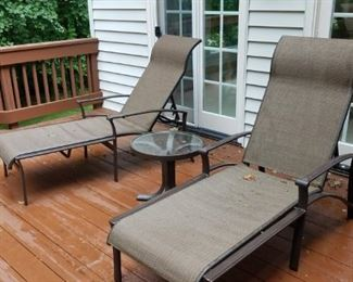 outdoor set by Tropitone, recently purchased @ Watson's