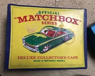 Many OLD matchbox and hot wheels and cases