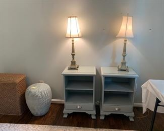 Pair of Pottery Barn nightstands
