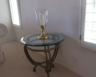 Matching end table and coffee table