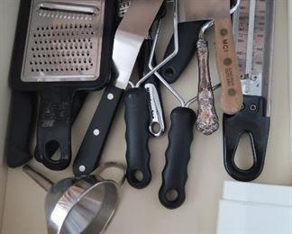 Lots of utensils